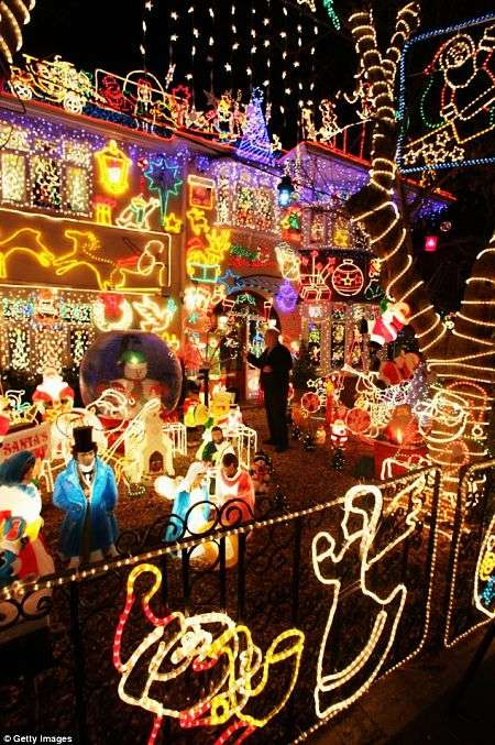 $45,000 Home Christmas Lights