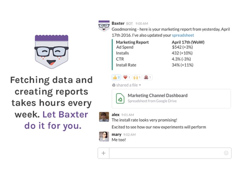 Automated Reporting Startups