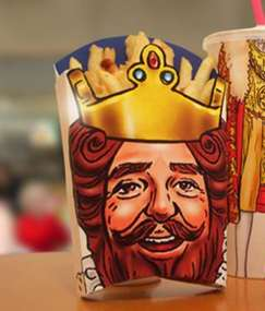 Burger Kings Create Your Own King