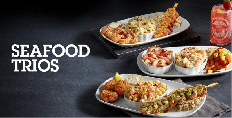 Customizable Seafood Menus