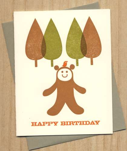 Creative Letterpress Cards