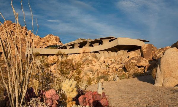 Organic Rugged Desert Residences