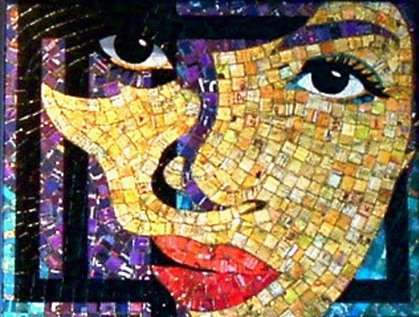 Pics Photos 40 Creative Mosaic Ideas From Jelly Bean Portraits To