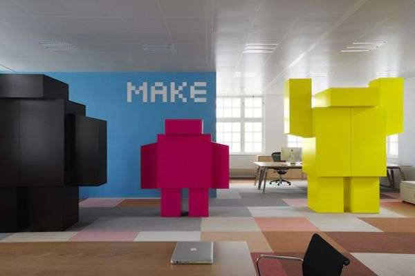 Imagination infused office spaces creative office for Interior design agency