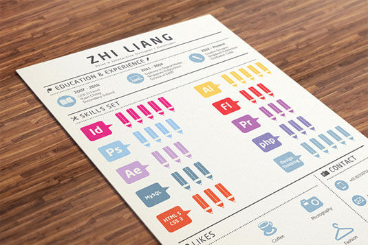 18 examples of creative millennial resumes