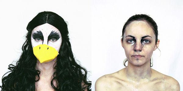 Candid Humanimal Self-Portraits