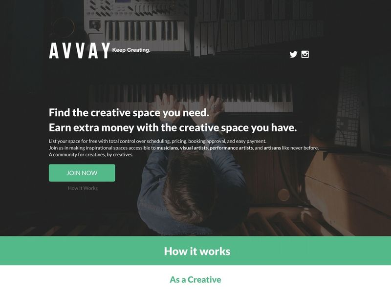 Creative Space Listings
