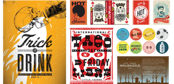 Vibrant Rejected Design Projects