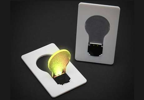 Incandescent Convenience Cards