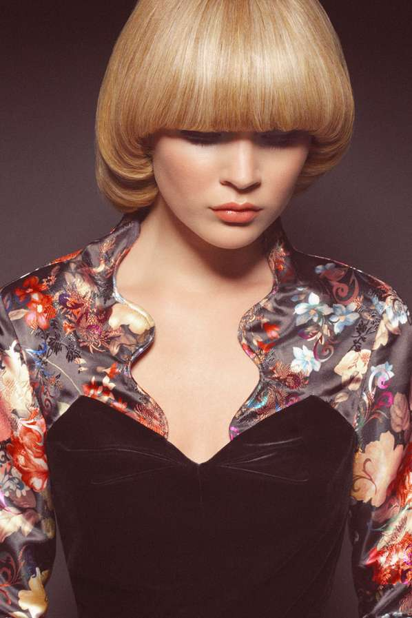 Bold Blonde Bob Shoots