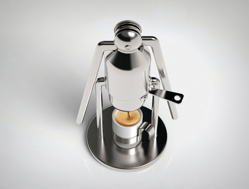 Pump Coffee Pistons