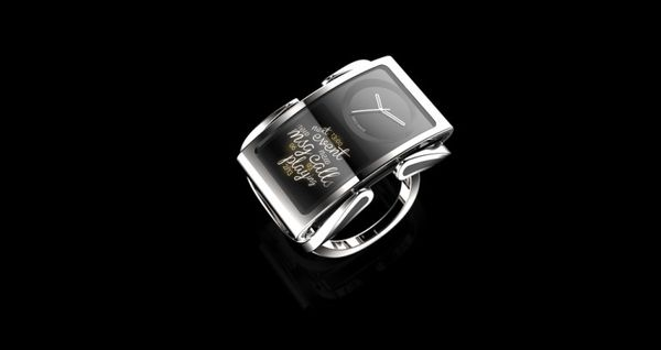 Elegantly Curved Concept Timepieces