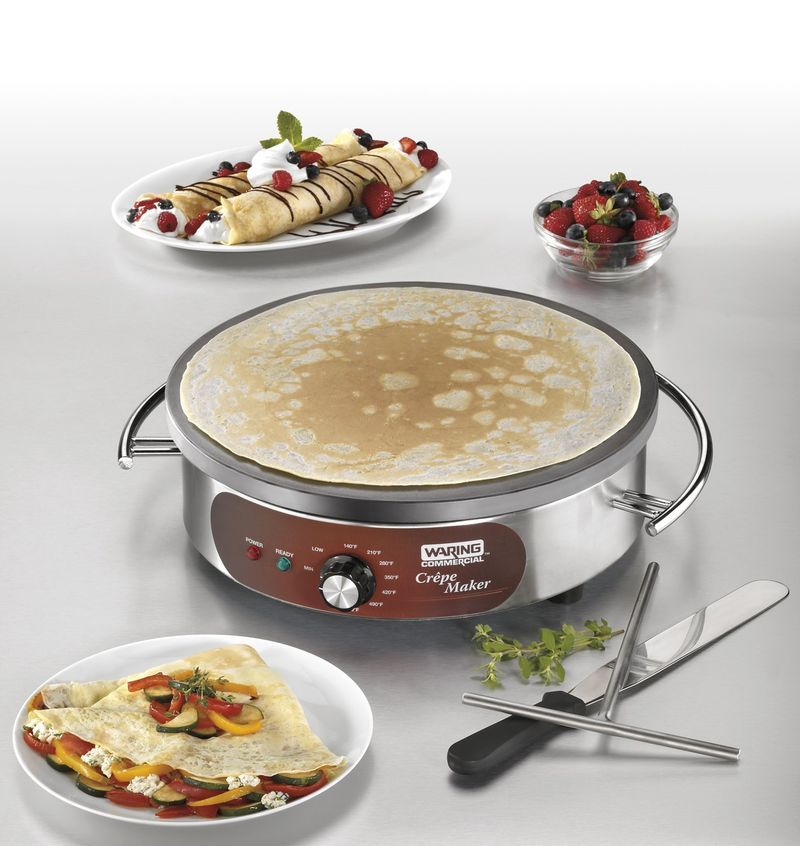 Commercial-Quality Crepe Makers
