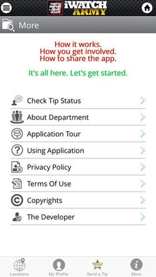 Terror Prevention Apps Crime Reporting