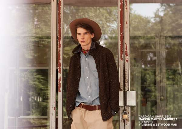 Dapper Androgynous Editorials