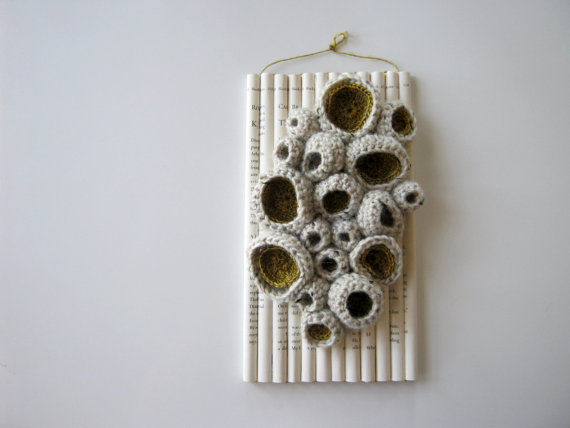 crocheted art