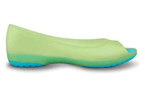 Translucent Pastel Footwear