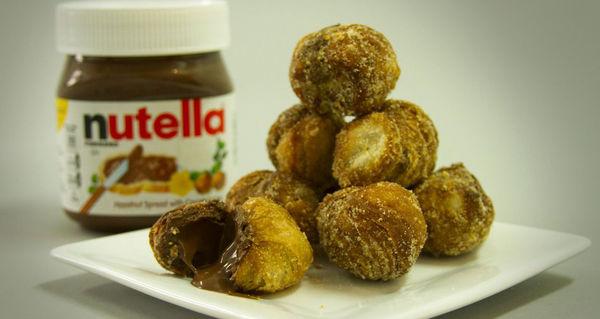 Chocolate Croissant Donut Holes
