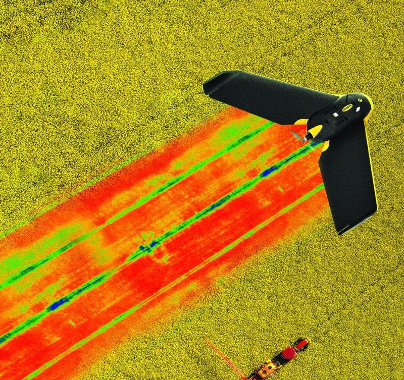 Crop-Monitoring Drone Cameras