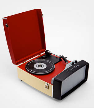 Vintage Portable Music Players Crosley Collegiate Turntable