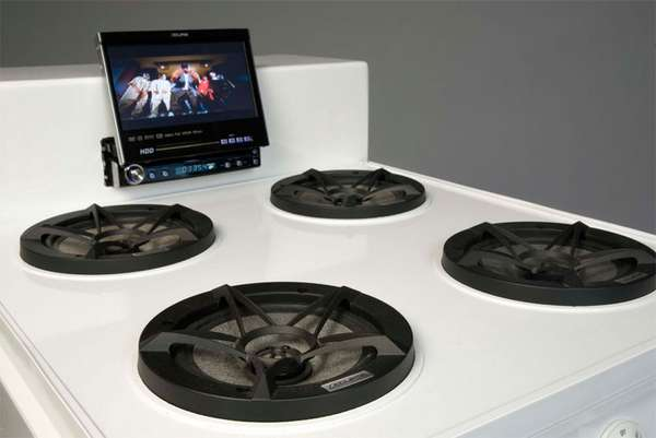 Stunning Stove Stereos