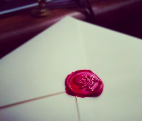Crossbones Wax Seal