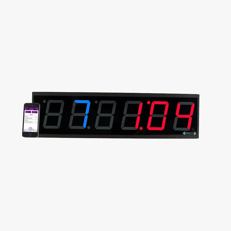 Remote fitness timers interval training timer