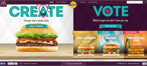 Crowdsourced Burger Campaigns