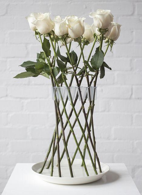Plastic Ring Flower Holders