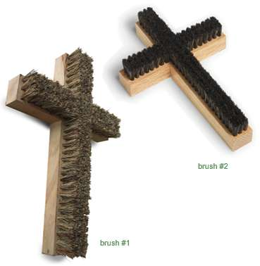 Crucifix Brushes