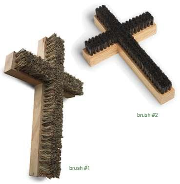 Crucifix Brushes