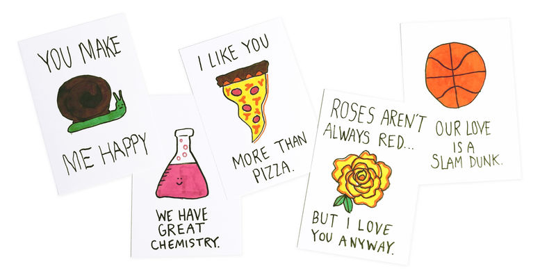 Intentionally Bad Valentines