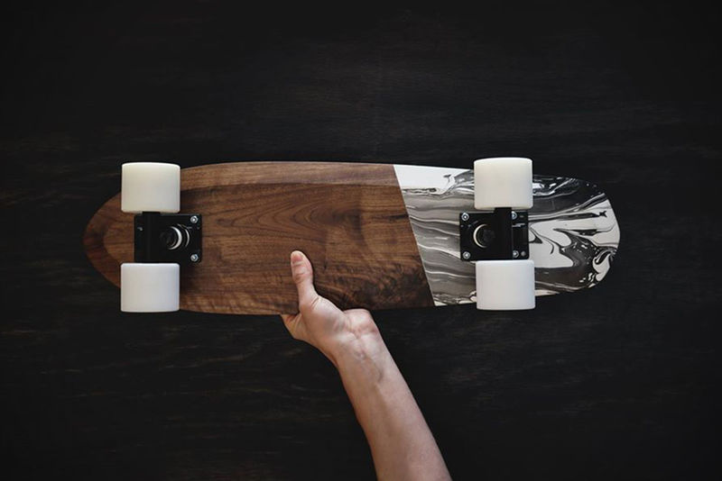 Marble-Painted Cruiser Boards
