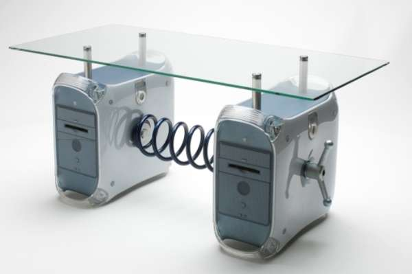 Upcycled Computer Coffee Tables