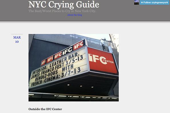 Hilarious Metropolitan Crying Guides