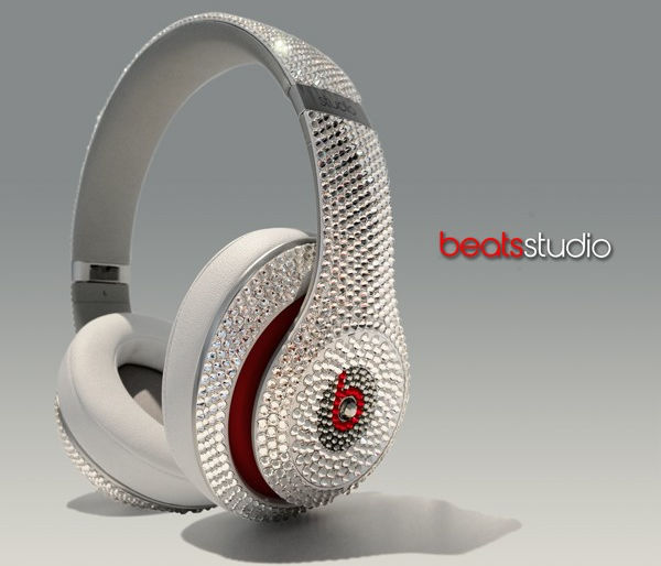 Crystal Encrusted Headsets