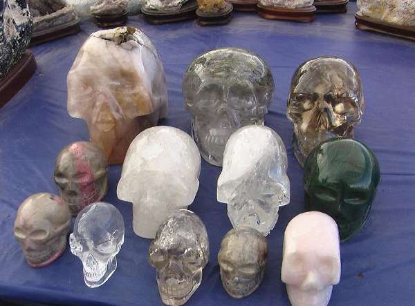Crystal Skull Jones Crystal Skulls Spur Search For