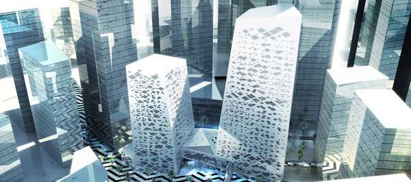 crystal towers