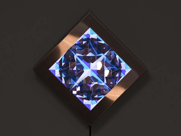 Crystalized Video Sculptures