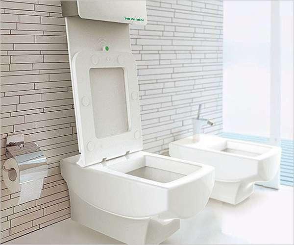 Self-Tidying Toilet Seats