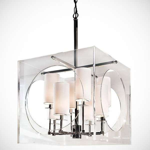 Futuristic Shapely Chandeliers