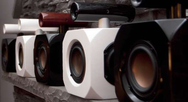 Explosive Cube Speakers