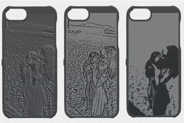 Picture-Punctured Phone Cases