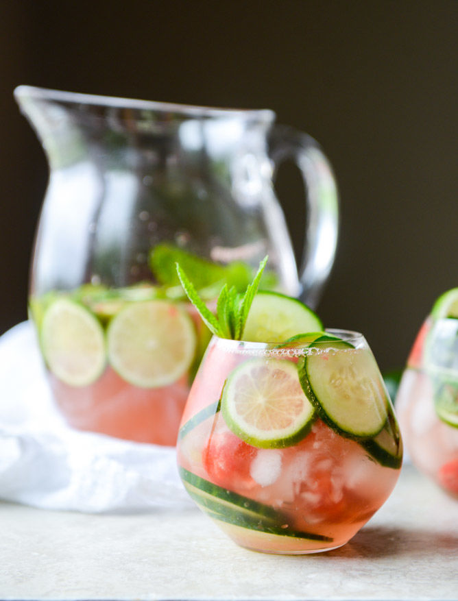 Refreshing Watermelon Sangrias