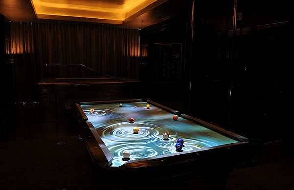 Luminous Digital Billiards Counters
