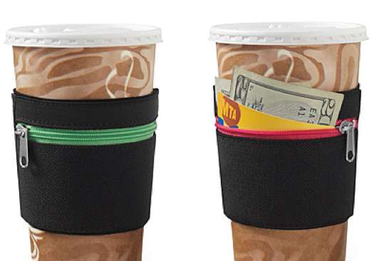 Zip-Up Cup Pockets