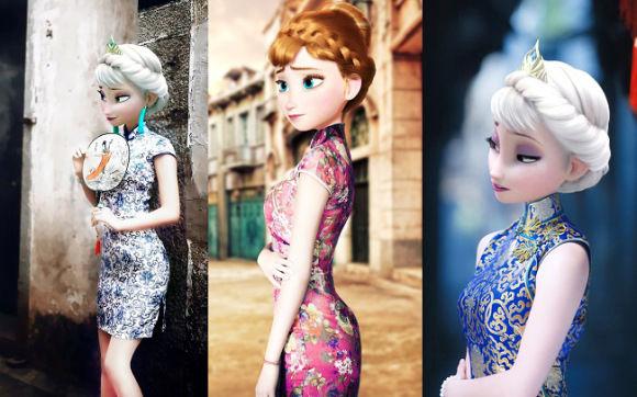 Cultural Disney Princess Makeovers