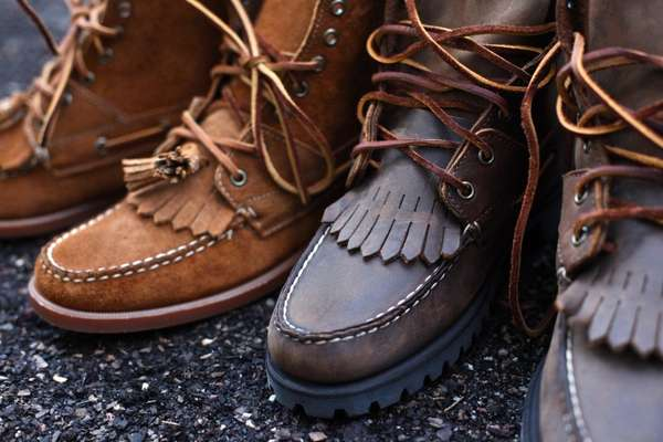 Tasseled Work Boots