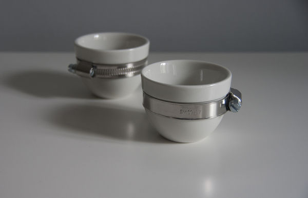 Handsome Hardware Teacups