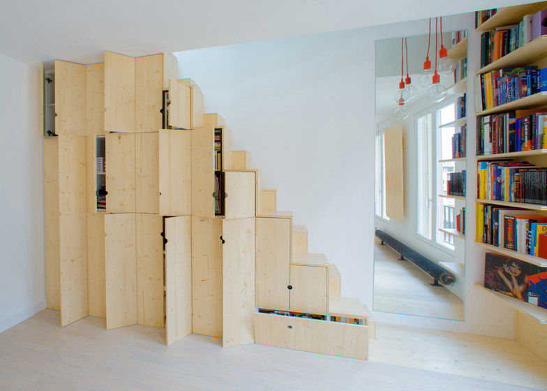 Quirky Cabinet Staircases